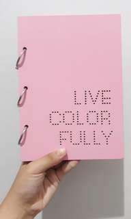 Memo Book Pink