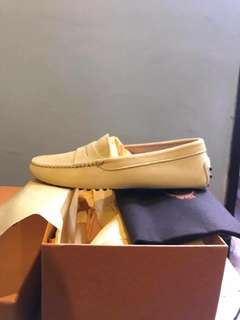 Brand New Tods Gommino Suede Shoes in Yellow
