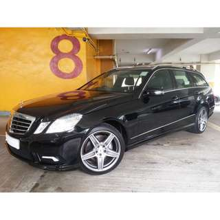 MERCEDES-BENZ E350 ESTATE AMG 2011