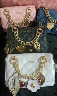 Guess Stassie mini chain cross body