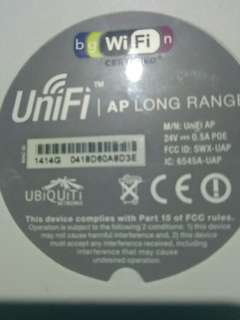UBIQUITI - Long Range WIFI Access Point