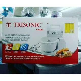 Stand Mixer Trisonic Alat Pencampur Adonan Kue Praktis Di Rumah