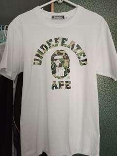 Undefeated Bape tee