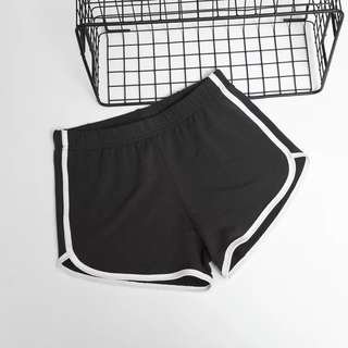 Runner Sports Shorts with black stripes