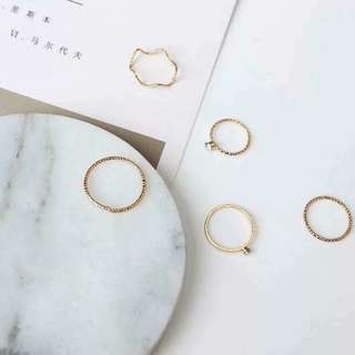 5 in 1 Ring Set