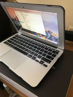 Macbook Air 11inches (early 2015)