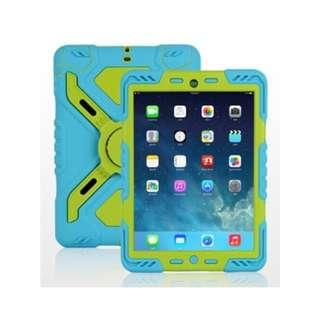 iPad Mini Pepkoo Case - Blue/Green - SKU: BGPEPKOOIPADMINICASE