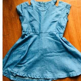 FRALIFIC branded dress Blue