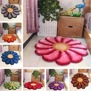 Floral Carpet (90cm × 90cm)