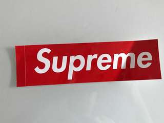 Supreme sticker貼紙