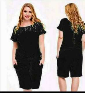 PLUS SIZE JUMPSUIT