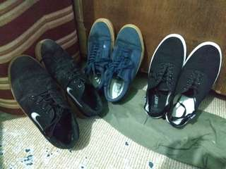 Vans Old skool, Nike Stefan Janoski and keds shoes