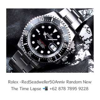 Rolex - Red Seadweller '50th Anniversary' 'Random' (New in Box)