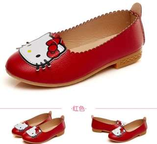 NEW Kasut Raya KIDS GIRL HELLO Kitty Shoes Sandals Hello Kitty Slippers Kasut Hello Kitty