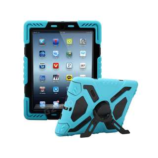 iPad Mini Pepkoo Case - Blue/Black - SKU: BBPEPKOOIPADMINICASE