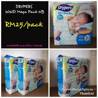Drypers NB (Tape Type)
