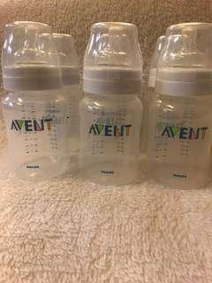 Avent Classic 9oz Bottles