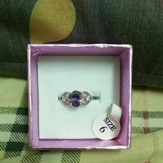 🚚 戒指 紫