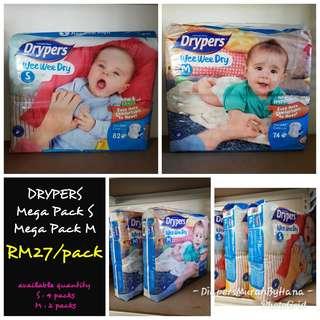 Drypers M (Tape Type)