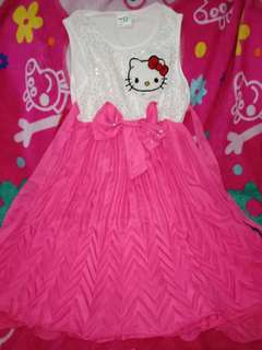 Kids Dress hello kitty