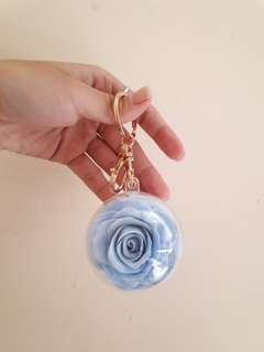 ROSE KEYCHAIN CLAY