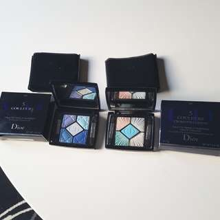 Christian Dior 5 Couleurs Couture Color Eyeshadow Palette. #270, #224. New.RRP$83.