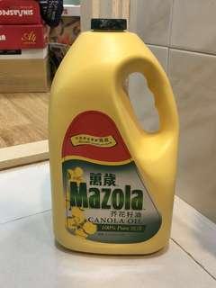 萬歲 Mazola 芥花籽油 3.5公升