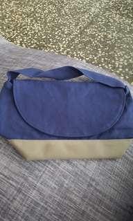 全新日本帆布旅行包 便當袋