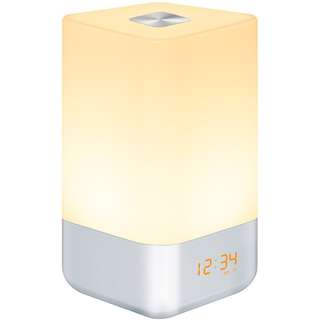 617. Wake Up Light Alarm Clock, Bedside Touch Lamp with Sunrise Simulation, 5 Natural Sounds, Multi Light Modes, USB Rechargeable, HogarTech Touch Control Night Light for Bedroom [Upgraded Version]