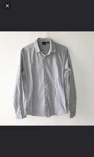 ASOS White Grid Shirt