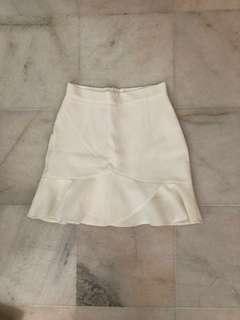 High waist Fishtail skirt