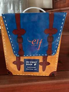Elf Culture Quiet Book for toddlers and kids