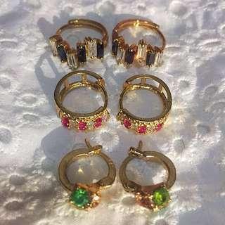(ALL) Rosegold Earrings