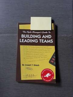 Building and Leading Teams