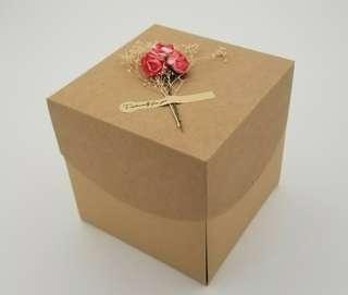 DIY 自製創意驚喜 相片盒 (  父母親節/小情侶/謝師禮物)