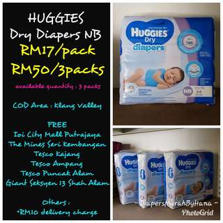 Huggies NB (Tape Type)