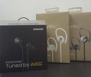 套裝Samsung AKG+Level Active(黑/白色)