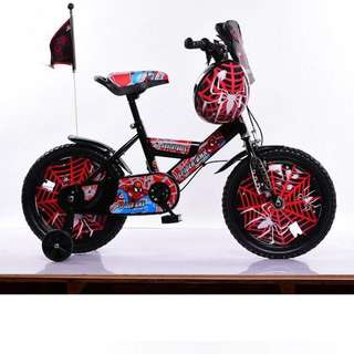 Kids Spiderman bicycle
