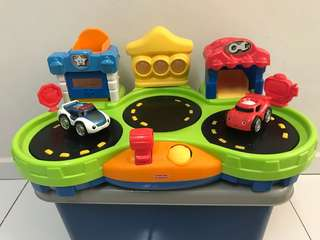 Fisher Price Chase and Race Town