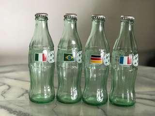 1998 World Cup Coke Bottles