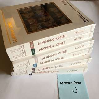🔥READY STOCKS - Wanna One Undivided 🔥 SEALED!!!