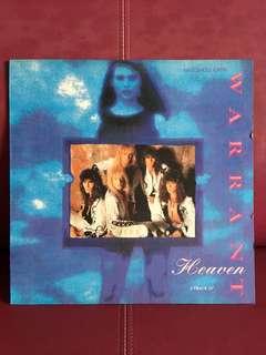 Warrant vinyl single Heaven