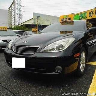 嚴選凌志 ES330 頂級天窗 小改款 正一手車 可全額貸款 優惠價出售拼成交