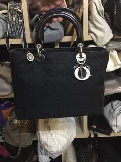 Authentic Lady Dior Cannage SHW