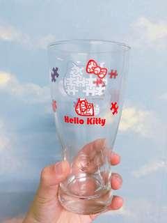 🚚 7-11 Hello kitty 40TH 經典玻璃曲線杯-2013拼圖紀念杯
