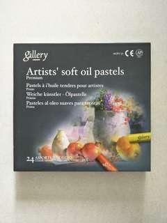 Oil pastels crayon