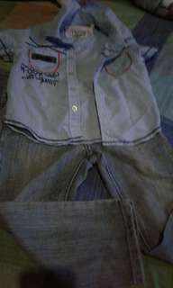 Kid's pants and polo