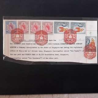 1953 Revenue stamps