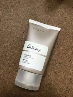 THE ORDINARY RETINOL 30ml (USED, NO BOX)
