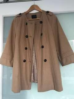 Portmans Camel Coat size 8